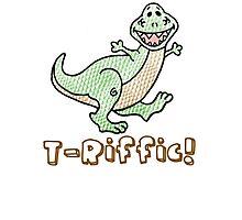 T-Rex: T-Riffic! Photographic Print
