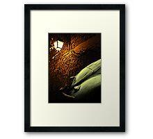 Lantern Light Framed Print