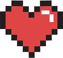 Pixel Heart! by BlondieAu