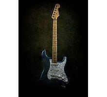 Fender Stratocaster Full Texture Photographic Print