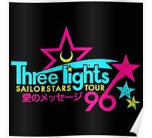 Three Lights Sailorstars Tour '96 Poster