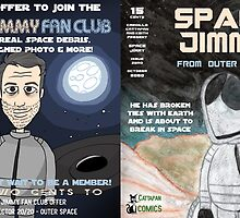 Space Jimmy Significant Mother music video - Comic Book scene by CattapanComics