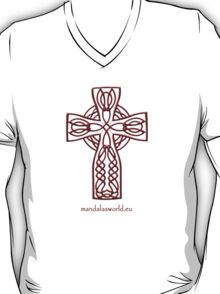 Celtic Cross n4 Brown T-Shirt