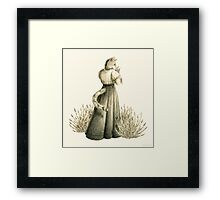 Victorian Cat Series 04 Framed Print