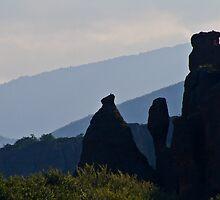 Vertical rocks by Vasil Popov