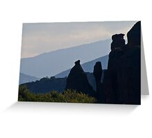 Vertical rocks Greeting Card
