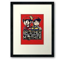 Another MOTHER - Ness & Ninten (alt) Framed Print