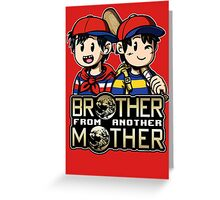 Another MOTHER - Ness & Ninten (alt) Greeting Card