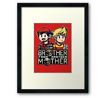 Another MOTHER - Ninten & Lucas Framed Print