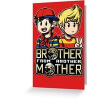 Another MOTHER - Ninten & Lucas Greeting Card