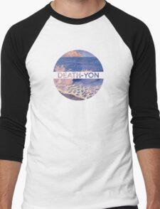 Death-Yon Pale Wave Tee Men's Baseball ¾ T-Shirt