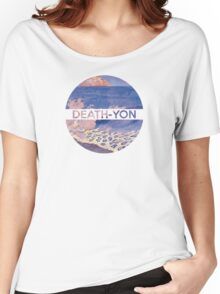 Death-Yon Pale Wave Tee Women's Relaxed Fit T-Shirt