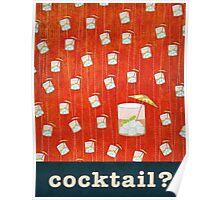 Kitchen Art - Cocktail Poster