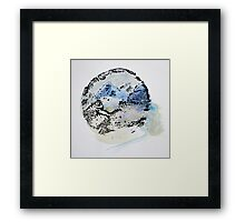 Tree Ring Mountains Framed Print