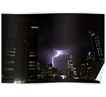 Thunderstorm - Perth Poster