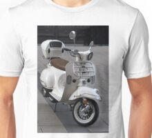 White Vespa classic scooter Unisex T-Shirt
