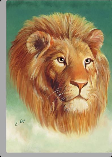 The King of the Jungle by ellenspaintings