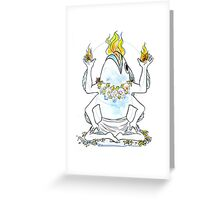 Strange Gods: Lhaza Greeting Card