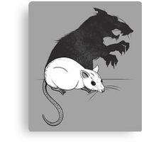 The Strange Case of Dr. Mouse and Mr. Rat Canvas Print