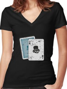 Voodoo - 21? Women's Fitted V-Neck T-Shirt
