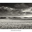 Australian Farmhouse - Mono by JayDaley