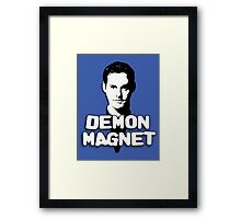 XANDER HARRIS: Demon Magnet Framed Print