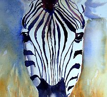 Zebra iPhone case by Ruth S Harris