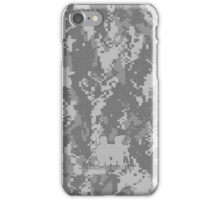 Tactical Modern Military digital camo 2 iPhone Case/Skin
