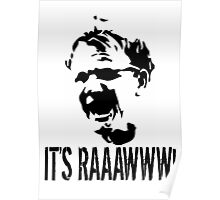 It's RAAAWWW! Poster