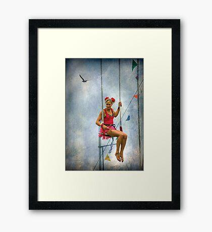 The Showgirl # 2  Framed Print