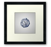 Blue Crystal I Framed Print