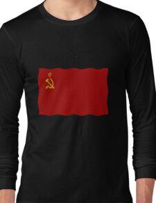 Soviet flag Long Sleeve T-Shirt