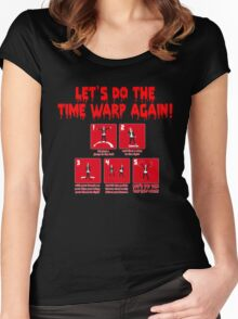 Rocky Horror - Let's Do The Time Warp Again Women's Fitted Scoop T-Shirt