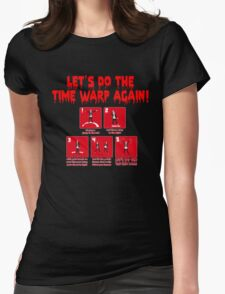 Rocky Horror - Let's Do The Time Warp Again Womens Fitted T-Shirt