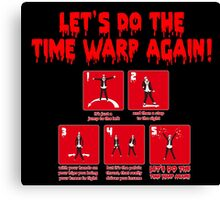 Rocky Horror - Let's Do The Time Warp Again Canvas Print