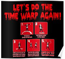Rocky Horror - Let's Do The Time Warp Again Poster