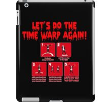 Rocky Horror - Let's Do The Time Warp Again iPad Case/Skin