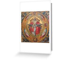 Cologne Cathedral - Altar of the Poor Clares Greeting Card