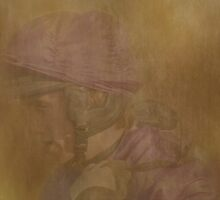 Jockey in Pastel by Catherine Hamilton-Veal  ©