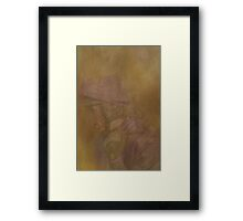 Jockey in Pastel Framed Print
