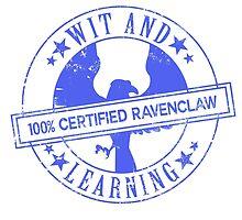 Hogwarts Certified - Ravenclaw by whitebalanced