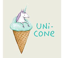 Unicone Photographic Print