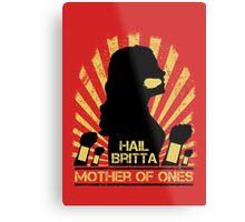 Mother of Ones Metal Print