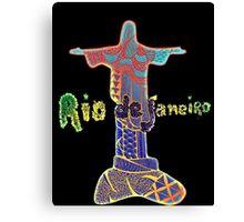 Rio de Janeiro - Zentangle Canvas Print