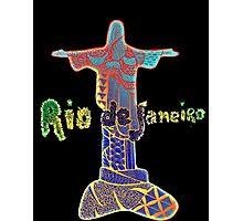 Rio de Janeiro - Zentangle Photographic Print