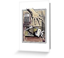 The Rabbit in a Waistcoat Greeting Card