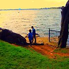 By the Sea and Grass by nauruking