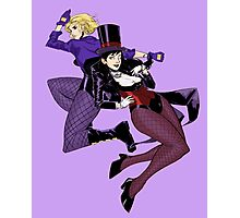 Black Canary and Zatanna 'BLOODSPELL' print Photographic Print