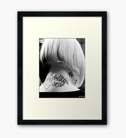 Tattoo You Framed Print
