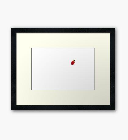 Strawberry Framed Print